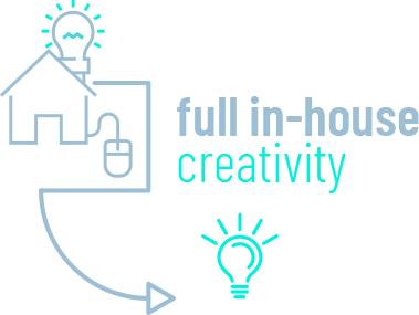Full in-house creativity